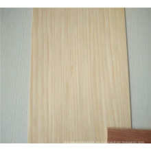 chapa de madera artificial del árbol chapa de madera cortada en cuarto corte cortado en corona corte en rodajas