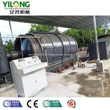 Machine d'extraction d'élimination de pyrolyse d'huile de pneus usés Inde