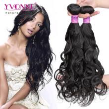 Cheveux brésiliens vierges non traités de bonne qualité de vague naturelle