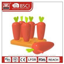 2014 New & Popular Ice Lolly Maker with Straw/ Carrot shape of Ice Lolly Maker with Straw