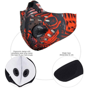 Filtro antipolvo de neopreno Sport Cycling Face Guard