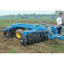 Agri tractor CE aprobó grada de disco hidráulico resistente para la venta caliente