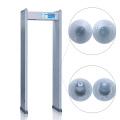 4 Detectar a Zona Human Indicating Lamp Archway Metal Detector