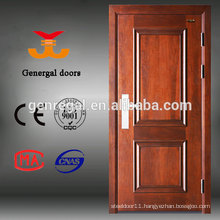 Manufacturer luxury steel wood entrance exterior armoured doors