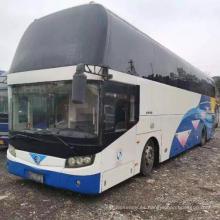 Autobús urbano automotriz usado Golden Dragon de 55 asientos
