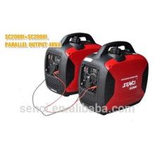 Silent Typ Lichtmaschine Benzin Motor Inverter Generator Set
