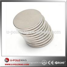 N38 Hot Sale D30X20mm Disc Neodymium Magnet Rare Earth