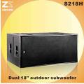 Daul 18 Inch Woofer Speaker Box