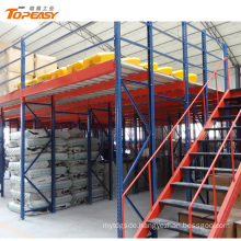 heavy duty warehouse multi-layer mezzanine racking system