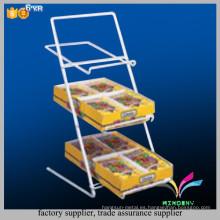 Soporte de exhibición modificado para requisitos particulares del caramelo del departamento de la tienda de la venta al por menor