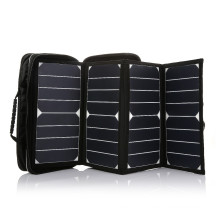 2017 China supplier 26W portable foldable sunpower mini solar panel