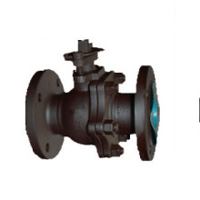Floating soft sealing ball valve