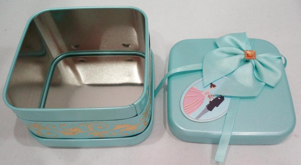 Bryllups Candy Tin Box