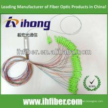 1 * 32 PLC Fibra Oprical Splitter con SC / UPC fabricante de conectores de alta calidad