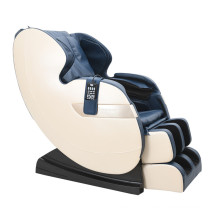 Stylish Durable Blue White Leather Home Use Massage Chair With Heating
