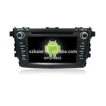 ¡Cuatro nucleos! Android 4.4 / 5.1 DVD del coche para ALTO / CELERIO 2015 con pantalla capacitiva de 7 pulgadas / GPS / Mirror Link / DVR / TPMS / OBD2 / WIFI / 4G