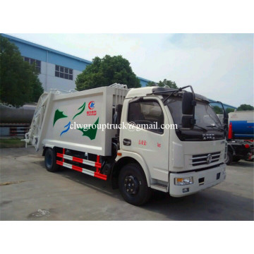 Dongfeng 4x2 compressed garbage truck