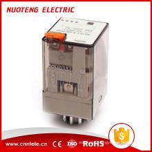 60.13 - Formes de contact I 3Z Relais électromagnétique à usage général Avec bouton de test