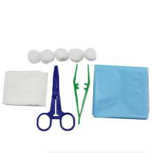 Pacote de curativo esterilizado descartável médico