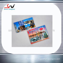 Custom promotional souvenirs magnetic card fridge magnet