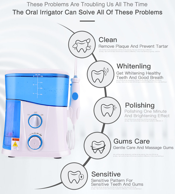 oral irrigator function