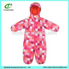 hoodies name brand chidren coverall ski jacket