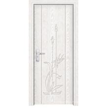 Porta interior do PVC feita em China (LTP-8012)