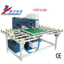 Máquina taladradora de cristal YZZT-Z-220 con posición del láser