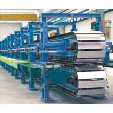 Línea de producción de paneles sandwich