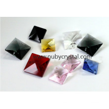 Square Octagon Crystal Beads for Chandelier