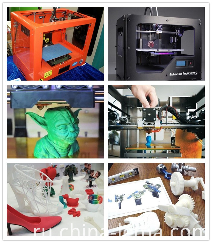 Plastic 3D printing part production