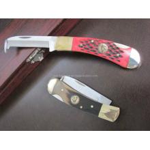 "6.7 ""Madeira Handle Water Chestnut Knife (SE-115)"