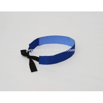Охлаждение галстук шея pva материал 100% полиэстер охлаждающая подставка для головы