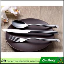 Conjunto de talheres de restaurante inoxidável garfo de mesa