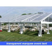 Freizeit klare Hochzeitsfeier Party Zelt 20x30m mit gefalteten Tisch und Stuhl für 400 Personen sitzen