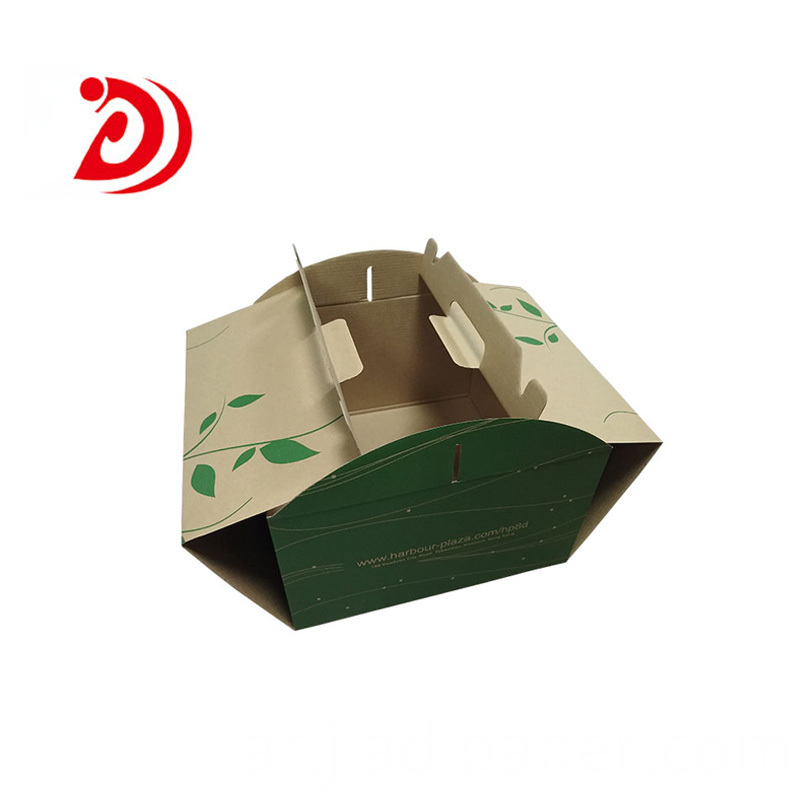 Cake Cardboard Box with Handle