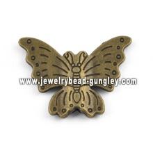 Красивая бабочка сплава формы кулон ожерелье
