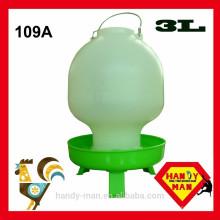 Plástico Com 3 pernas Ball Type Drinker 3L