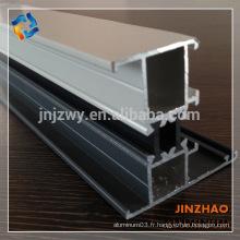 Profilé aluminium carré modèle