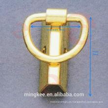Clip de unión lateral y de borde libre de níquel para accesorios de bolsa (F6-137S)