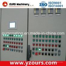 Sistema de controle elétrico para linha de revestimento em pó