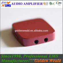 Amplificador de batería recargable de amplificador de auriculares de amplificador de teléfono móvil
