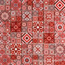Portugal Vintage Resort Hotels Inkjet Printing Surface Mosaic Travertine Tile