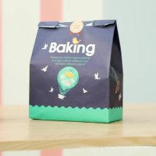 sac en papier Kraft Fast Food imprimé personnalisé
