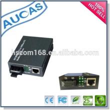 Convertisseur de fibre simple / duplex simplex duplex 10 / 100M / émetteur rj45 SC 10 / 100Base-TX à 10 / 100Base-FX