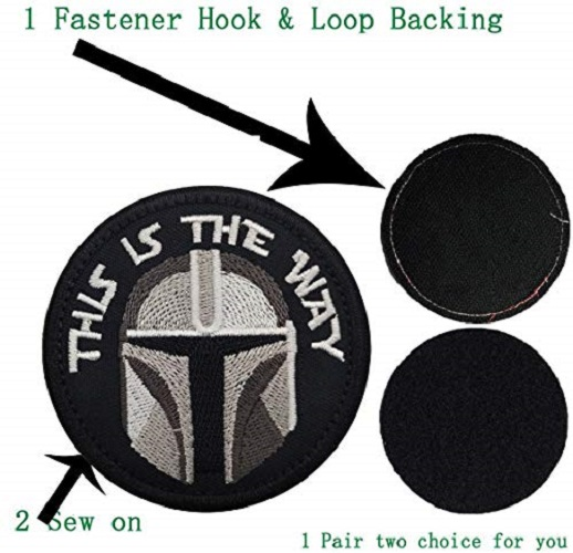 Embroidered Fastener Patches