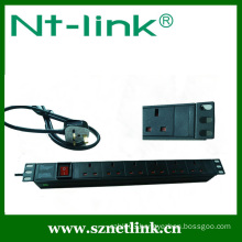 Shenzhen Netlink High Quality 8 way PPdu Socket For Cabinet