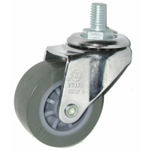Swivel Threaded Stem PU Caster with Various Sizes