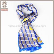 Wholesale % 100 silk High Qualtity Mens Silk Scarf