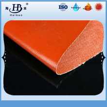 Silicone coated fiberglass fabrics for engineer thermal insulation